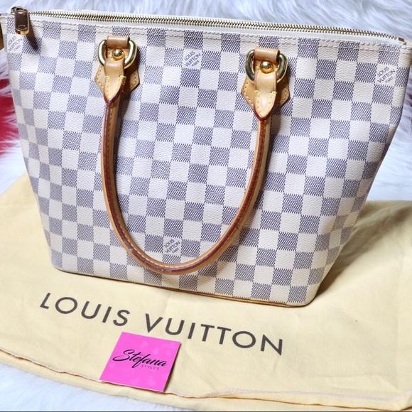1098dc6e20df Louis Vuitton Handbags - Louis Vuitton Saleya PM Damier Azur Shoulder Bag